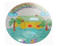 logo paradise resort